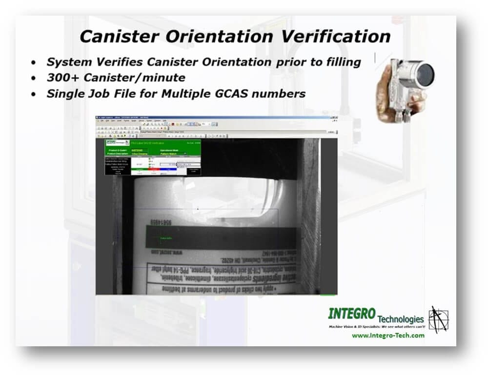 Canister Orientation