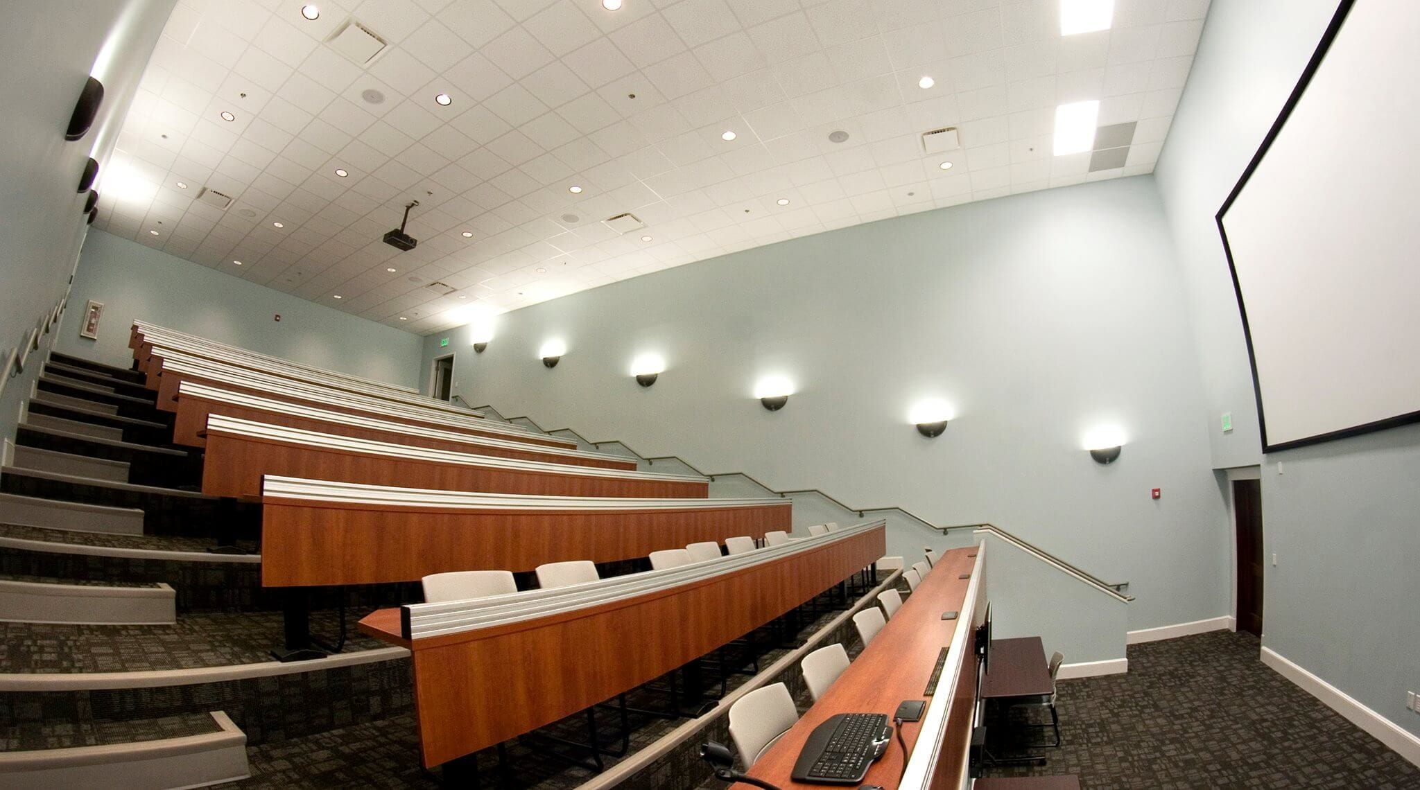 Salisbury Business Center and Integro Technologies auditorium