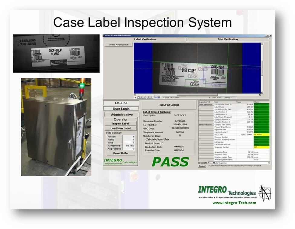 case label