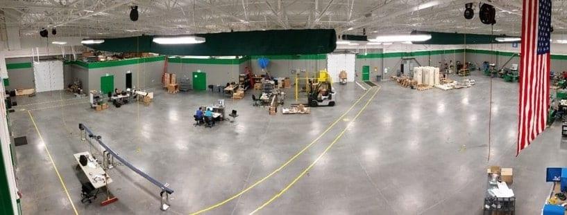 Integro Technologies Shop Floor