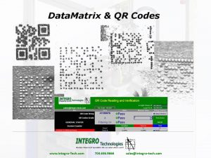 QR Code Reading and Verification Machine Vision Inspection