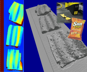 3D Topography Sun Chips
