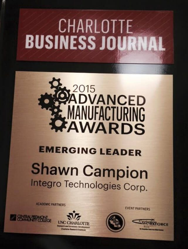 Emerging Leader Award