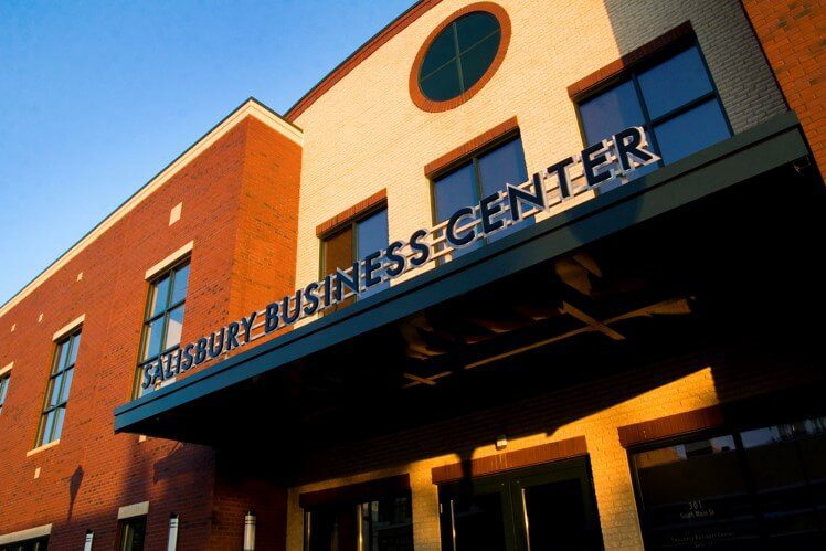 Exterior Salisbury Business Center