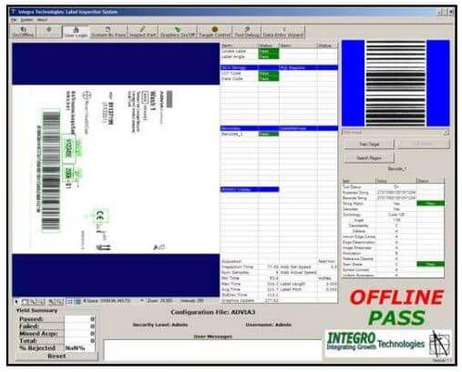 Sidewinder Screen shot of software on computer
