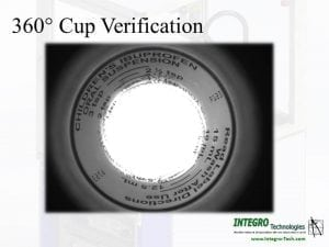 360 degree cup verification