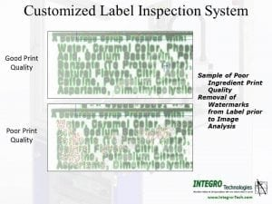Customized Label Inspection System