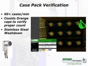 Case Pack Verification System
