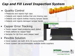 Fill level bottling inspection