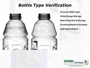 Bottling inspection type verification