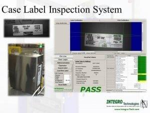 Case Label Inspection