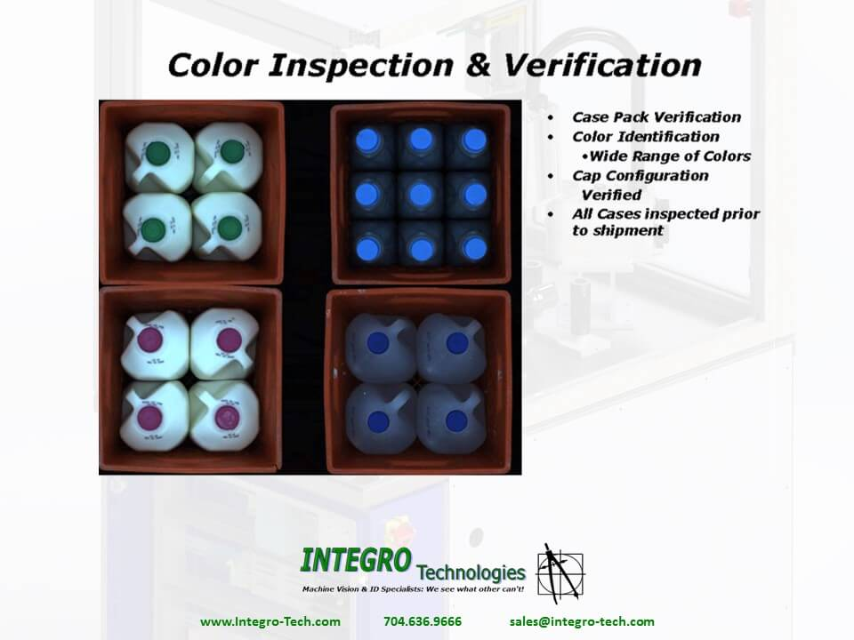 Color and Case Pack Verification