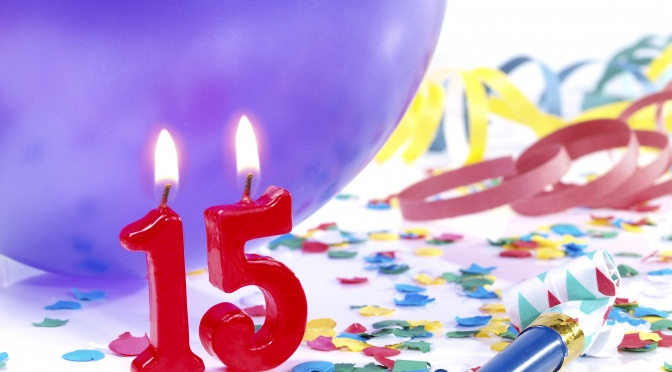 Birthday-anniversary Nr. 15