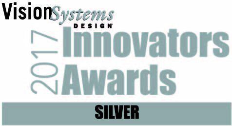 Vision Systems Design 2017 Innovators Awards Silver