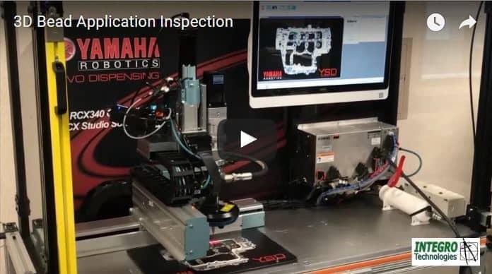 3d Bead Inspection Coherix Amp Yamaha Robotics