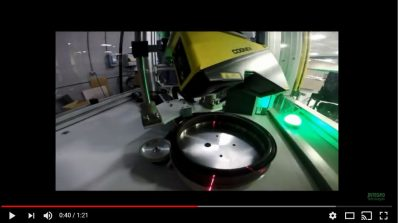 3D Disk Inspection and Laser Marking