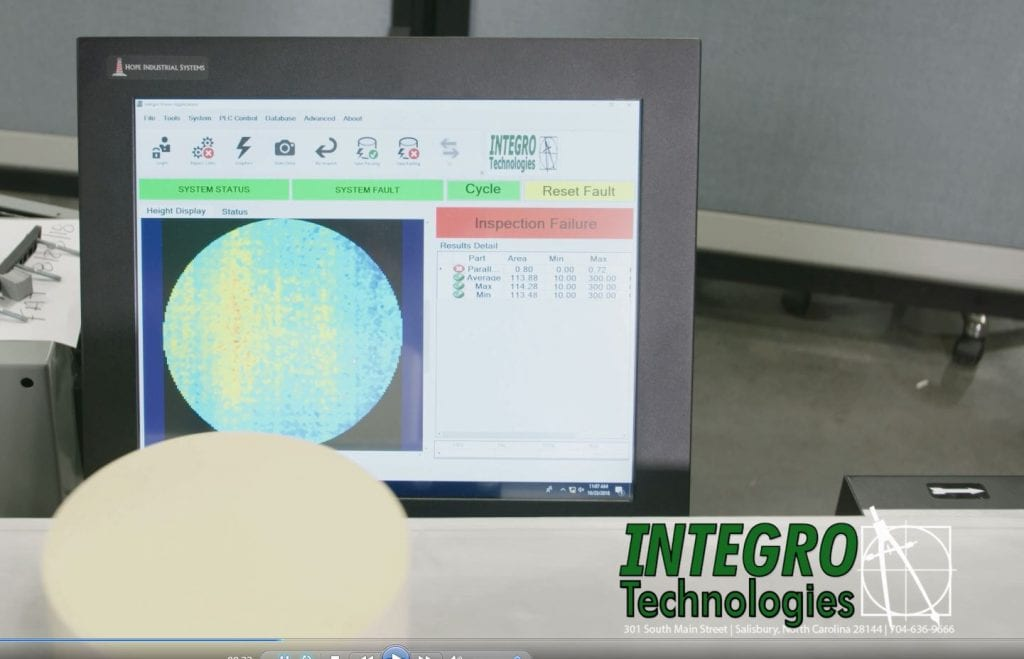3D Height Inspection Machine
