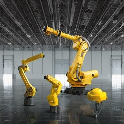 FANUC FEA-RO-GM-H-4Robots-1