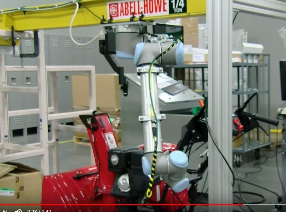 Collaborative Robots and Vision Inspection