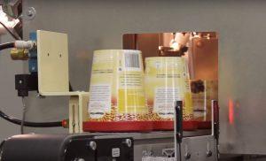 ice cream container machine vision inspection